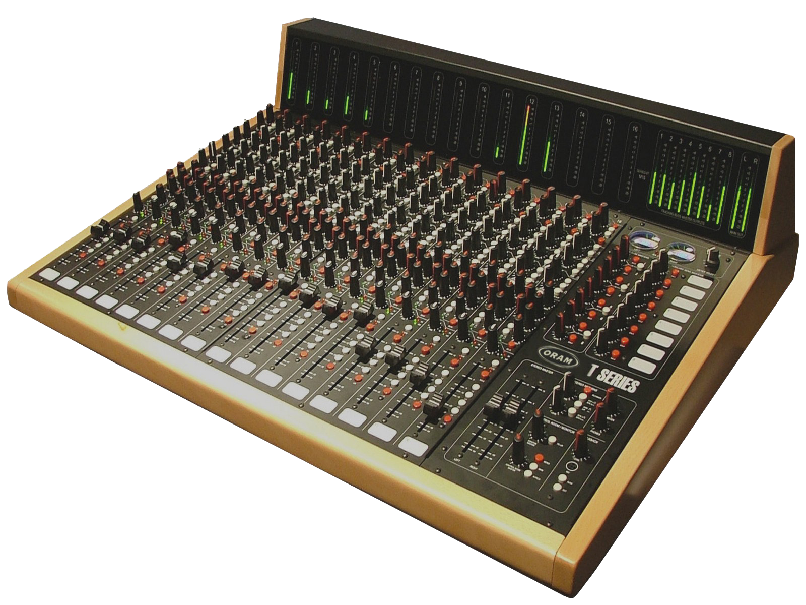 the best analog console on the planet - ORAM T Series 16CH+MB