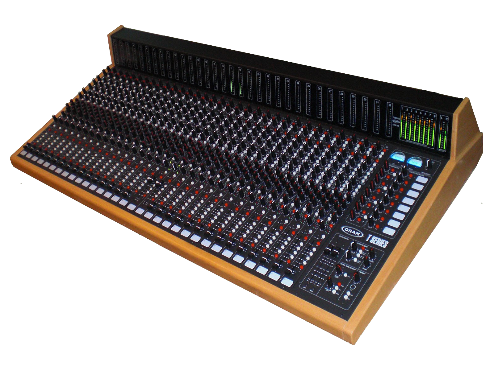 the best analog console on the planet - ORAM T Series 32CH+MB