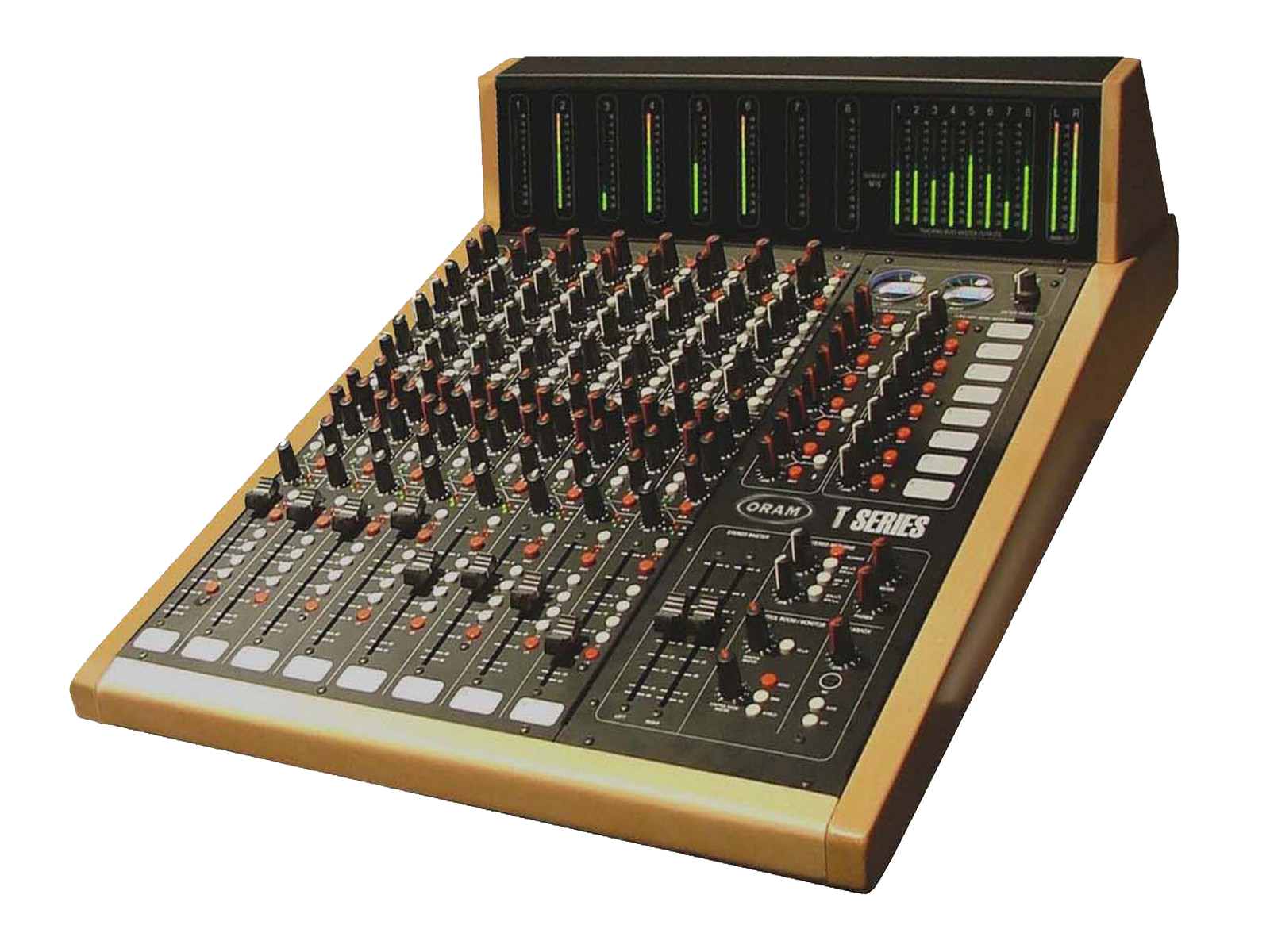 the best analog console on the planet - ORAM T Series 8CH+MB